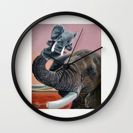 Puppet Therapy Wall Clock