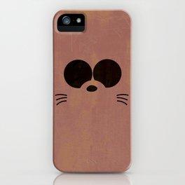Minimalist Boota iPhone Case