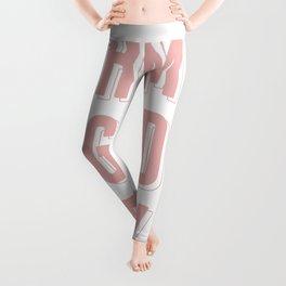 Oh My God Becky-Pink Leggings