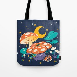 Goodnight Plume Tote Bag