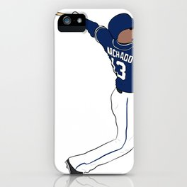 Manny Machado iPhone Case