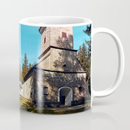 Maria Rast forest chapel | architecture photography Coffee Mug