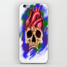 Think With Your Heart iPhone & iPod Skin