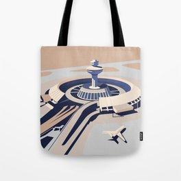 Soviet Modernism: Zvartnots airport, Armenia Tote Bag