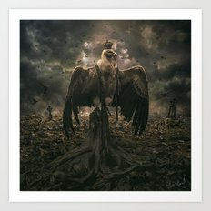 The Sinister Reign Art Print