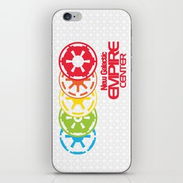 New Galactic Empire Center iPhone Skin