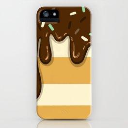 Chocolate Yum Yum iPhone Case