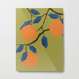 Oranges 2 Metal Print