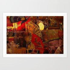 Asian Art Art Print