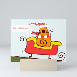 Merry Christmas Mini Art Print