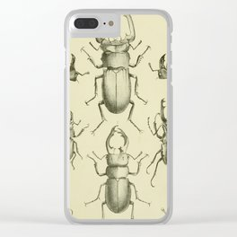 F.J. Sidney Parry - A catalogue of Lucanoid Coleoptera (1864) - Beetle species Clear iPhone Case