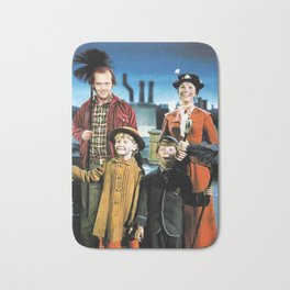 Jack Torrance in Mary Poppins Bath Mat