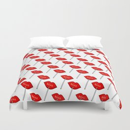 Candy Kiss Pattern Duvet Cover