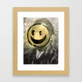 VG SMILIE Framed Art Print