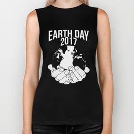 Earth Day 2017 T Shirt Happy National Earth Day Biker Tank