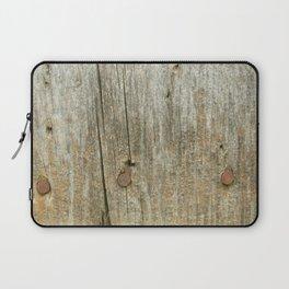 Vntage Lumber Detail Laptop Sleeve