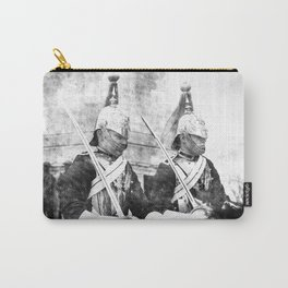 Household Cavalry Changing Of The Guard Vintage Carry-All Pouch