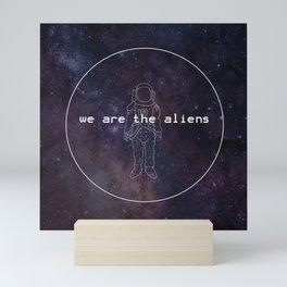 Aliens Mini Art Print