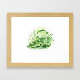 Sweet drop Framed Art Print