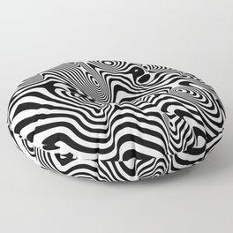 Trippy Background Floor Pillow