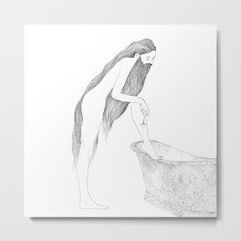 Antoinette's Personal Preference by Blood Bath Cards Metal Print