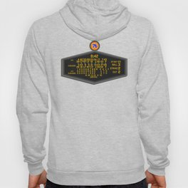 1988 World Series Baseball Scoreboard Hoody