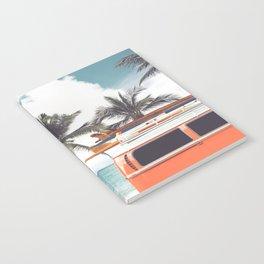Red surf van Notebook