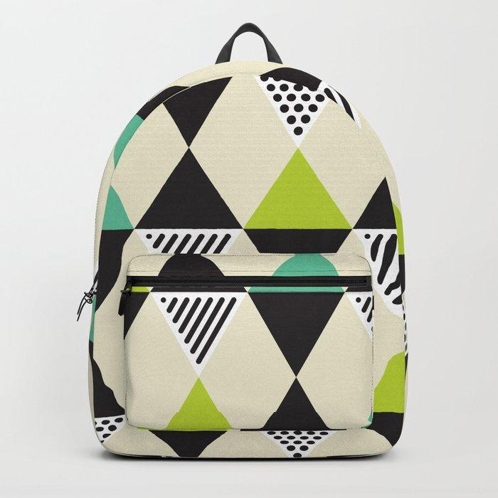 Geometric Pattern #48 (Mid-century) Backpack