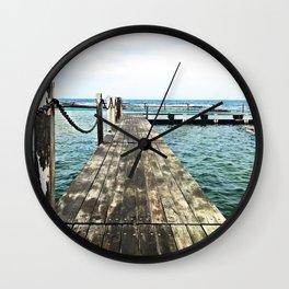 Rockpool Boardwalk Wall Clock
