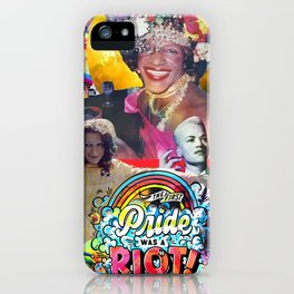 Celebrating Pride - Stonewall Riots - Queer Women of Color iPhone Case