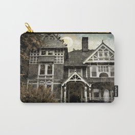 Haunted Hauntings Series - House Number 1 Carry-All Pouch