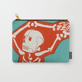 Overlay Skeleton Carry-All Pouch