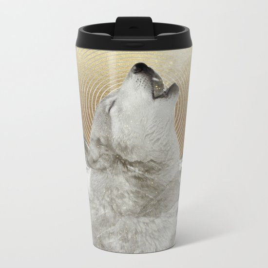 Turn Your Face To The Sun Metal Travel Mug