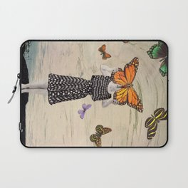 The butterflirst Laptop Sleeve
