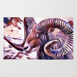 The Bighorn sheep Rug