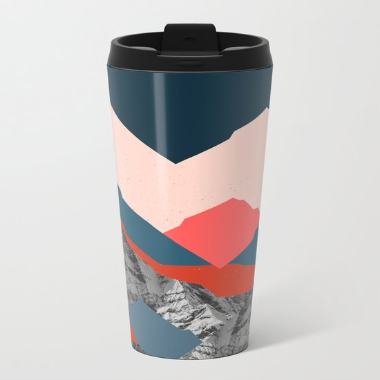 Graphic Mountains X Metal Travel Mug