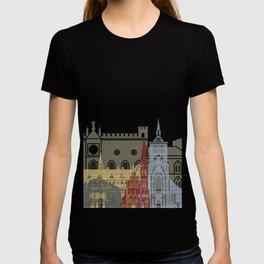 Odense skyline poster T-shirt