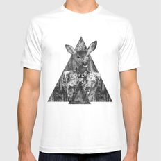 ▲BOSQUE▲ White MEDIUM Mens Fitted Tee