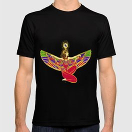 Winged Isis w/Eye of Horus T-shirt