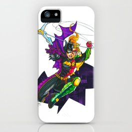 Batgirl : Robin Legacy iPhone Case