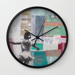 We Watched Ballet on TV Wall Clock