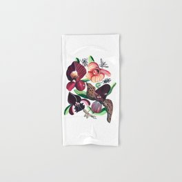Orchid Cafe Hand & Bath Towel