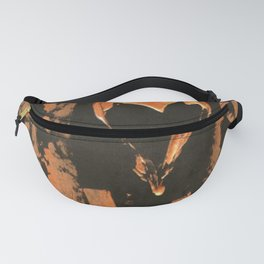 Liquid Copper Gothic Heart | Corbin Henry Fanny Pack