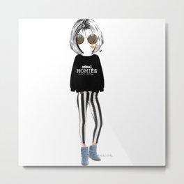 Modern Day Anna Wintour Metal Print