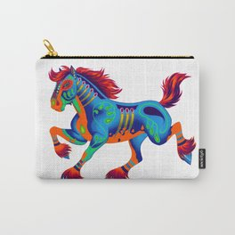 Oaxacan Horse Carry-All Pouch