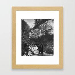 Pique-nique Framed Art Print