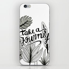 Take a journey iPhone Skin