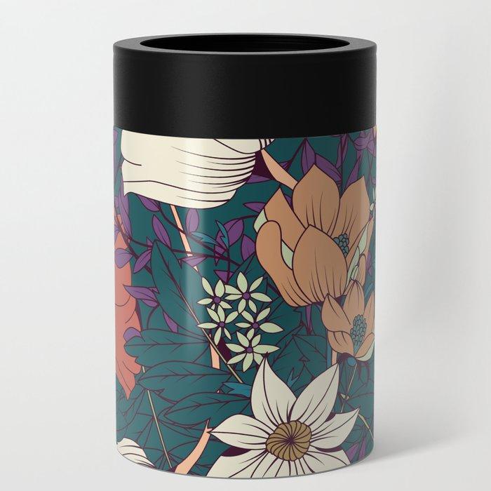 Botanical pattern 008 Can Cooler