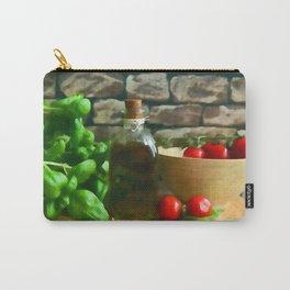 Mediterranean Kitchen Carry-All Pouch