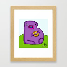B is for Bublik Framed Art Print